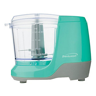 Brentwood 1.5 Cup Mini Food Chopper in Blue, , large