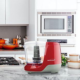 Brentwood 1.5 Cup Mini Food Chopper in Red, , rollover