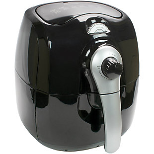 Brentwood 3.7 Quart Air Fryer, Black, large