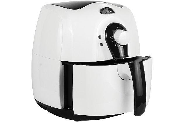 Brentwood 3.7 Quart Air Fryer, White, large