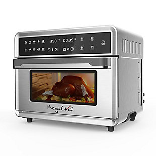 Megachef 10 in 1 Electronic Multifunction 360 Degree Hot Air Technology Countertop Oven, , rollover