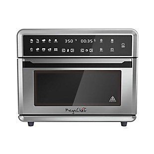Megachef 10 in 1 Electronic Multifunction 360 Degree Hot Air Technology Countertop Oven, , large