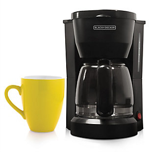 Black and Decker 5 Cup Coffee Maker, , rollover