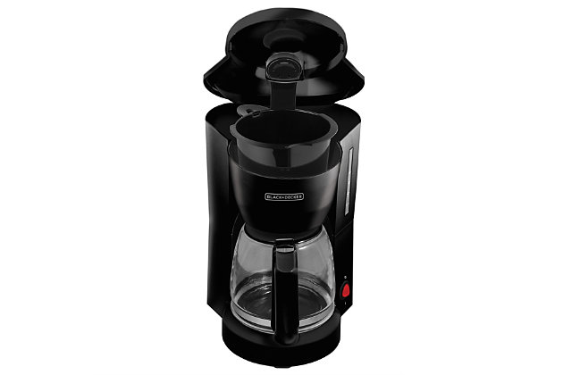 Black and Decker 5 Cup Coffee Maker, , large