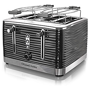 Russell Hobbs Retro Four Slice Toaster, , large