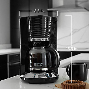 Russell Hobbs Retro 8 Cup Coffee Maker, , rollover