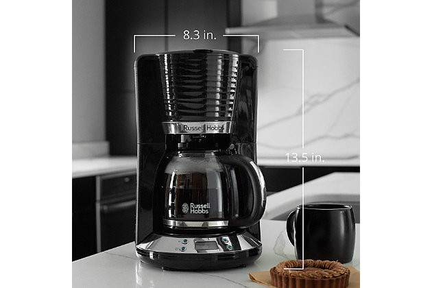 Russell Hobbs Retro 8 Cup Coffee Maker, , large
