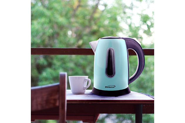 Brentwood 1L Electric Kettle, Blue, large