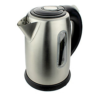 Brentwood 1L Electric Kettle, Silver, large