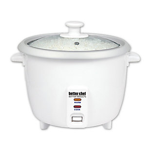 Better Chef 8 Cup Rice Cooker, , large