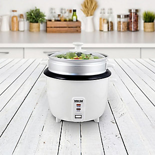 Better Chef 5 Cup Rice Cooker and Food Steamer, , rollover