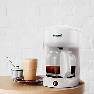 Better Chef 12 Cup White Coffeemaker, , rollover