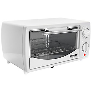 Better Chef 9 Liter Toaster Oven Broiler-White, , large