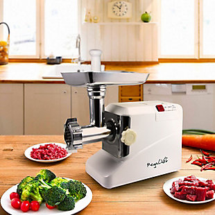 Megachef 1800 Watt High Quality Automatic Meat Grinder for Household Use, , rollover