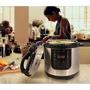 Megachef 8 Quart Pressure Cooker, , rollover
