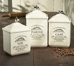 AMERICAN ATELIER Maison Canister (Set of 3), , rollover