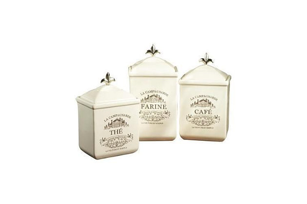 AMERICAN ATELIER Maison Canister (Set of 3), , large