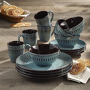 AMERICAN ATELIER Delilah 16-Piece Dinnerware Set, , rollover