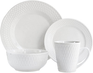 ELLE Juliette Porcelain 16-Piece Dinner Set, , large