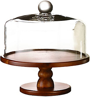 AMERICAN ATELIER Madera Pedestal Plate with Dome, , large