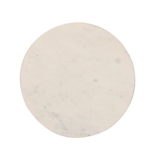 Creative Co-Op Round Marble Cheese/Cutting Board, , large