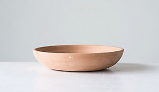 Creative Co-Op Large Orange Terracotta Bowl, , rollover