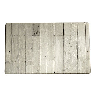 """Elrene Home Fashions Farmhouse Living Faux Wood Grain Rustic Comfort Anti Fatigue Kitchen Mat, 18"""" x 30"""", Natural Gray, , large"""