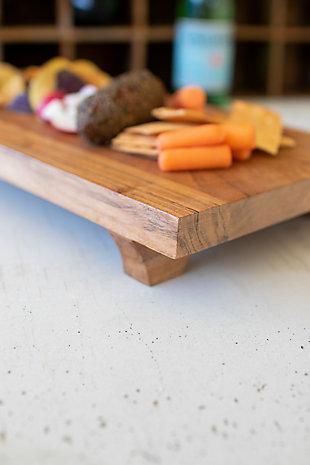 Kalalou Rectangle Acacia Wood Serving Board, , large