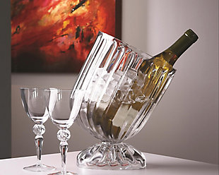 Global Views Optic Slanted Wine Chiller, , rollover
