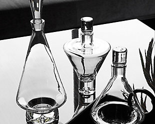 Global Views High Shoulder Decanter Clear, , rollover