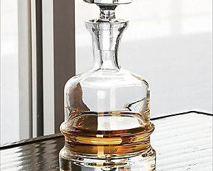 Global Views Traditional Decanter Clear, , rollover