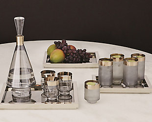 Global Views Set of 4 Twilight Drinking Glasses Tall, , rollover