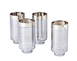 Global Views Set of 4 Twilight Drinking Glasses Tall, , large