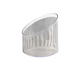 Global Views Platinum Stripe Ice Bucket, , large