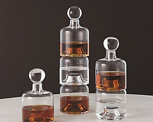 Global Views Double Stacking Decanter, , rollover
