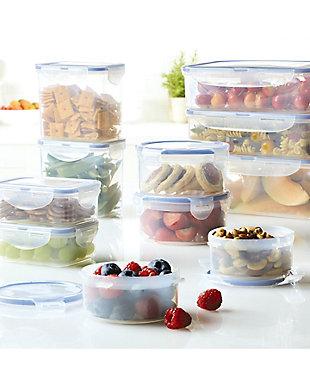 Lock & lock Easy Essentials™ Assorted Rectangular Food Storage Container Set,  22-Piece, , rollover