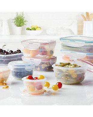 Lock & lock Easy Essentials™ Color Mates Assorted Food Storage Container Set,  18-Piece, , rollover