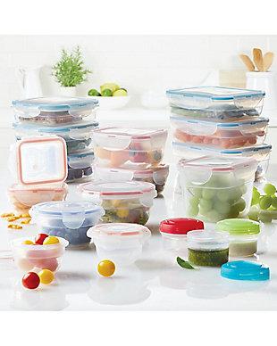 Lock & lock Easy Essentials™ Color Mates Assorted Food Storage Container Set,  36-Piece, , rollover