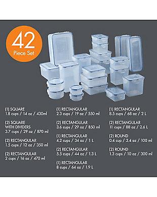 Lock & lock Lock and Lock Easy Essentials Promo 42 Piece Set, , large