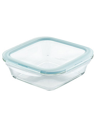 """Lock & lock Lock and Lock Purely Better™ Glass 8"""" x 8"""" Square Baker w/Lid, , large"""