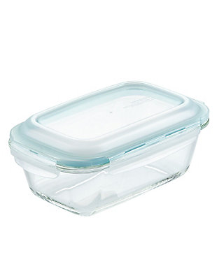 """Lock & lock Lock and Lock Purely Better™ Glass 8.5"""" x 5.5"""" Loaf Pan w/Lid, , large"""