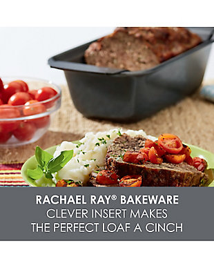 Rachael Ray 2-Piece Meatloaf Pan Set, , rollover