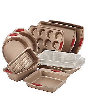 Rachael Ray Cucina Nonstick Bakeware 10-Piece Set, , large