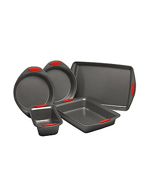 Rachael Ray Yum-O Nonstick Bakeware Red 5-Piece Set, Red, large