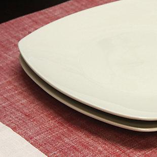 Gibson Zen Buffetware 8 Piece Dinner Plate, , rollover