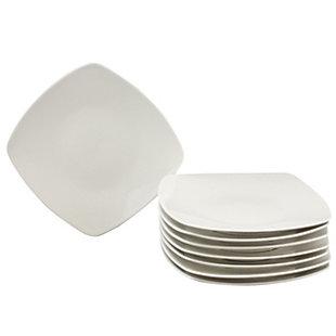 Gibson Zen Buffetware 8 Piece Dinner Plate, , large