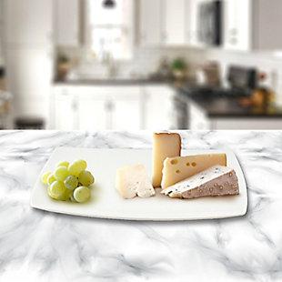 Gracious Dining Rectangular Ceramic Serving Platter, , rollover