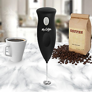 Mr. Coffee Profroth Milk Frother in Black, , rollover