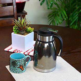 Mr. Coffee Colwyn 2 Quart Thermal Coffee Pot, , rollover