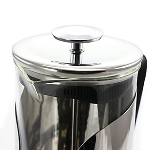 Mr. Coffee Maraba 33 Ounce French Press Glass Carafe Coffee Maker with Scoop, , large